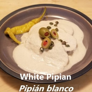 White Pipian My Slice of Mexico