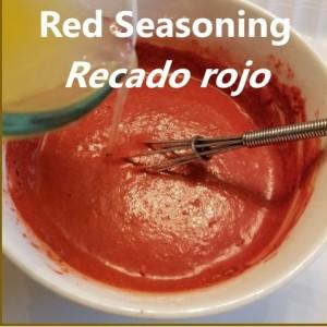 Recado rojo My Slice of Mexico