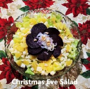 Christmas Eve Salad My Slice of Mxico