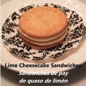 Lime Cheesecake Sandwich title