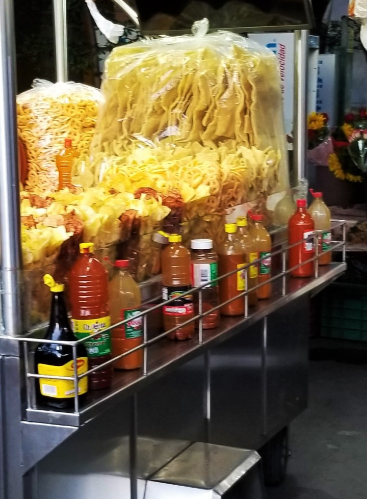 001 chips street food