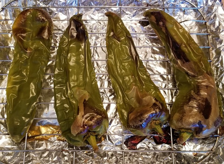 009 Roasted Anaheim peppers