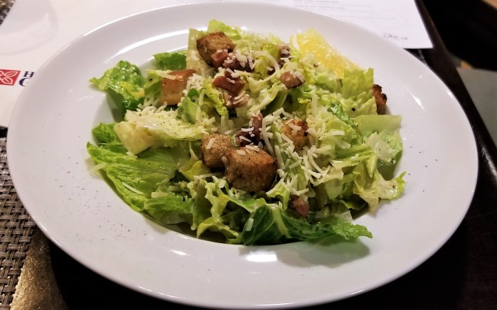 001 aaa Caesar salad at the Hilton Garden Toronto