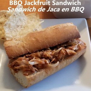 BBQ Jackfruit sandwich My Slice of Mexico