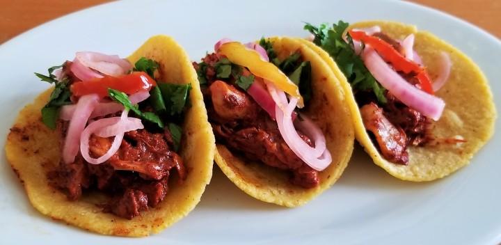 Jackfruit Pibil Tacos