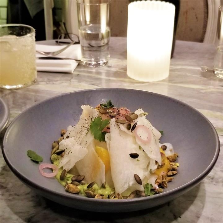 002 Salad with Margarita Rosalinda