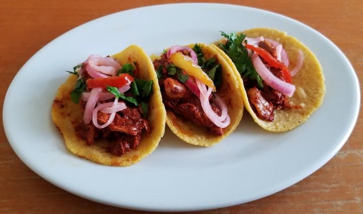 007 jackfruit pibil tacos