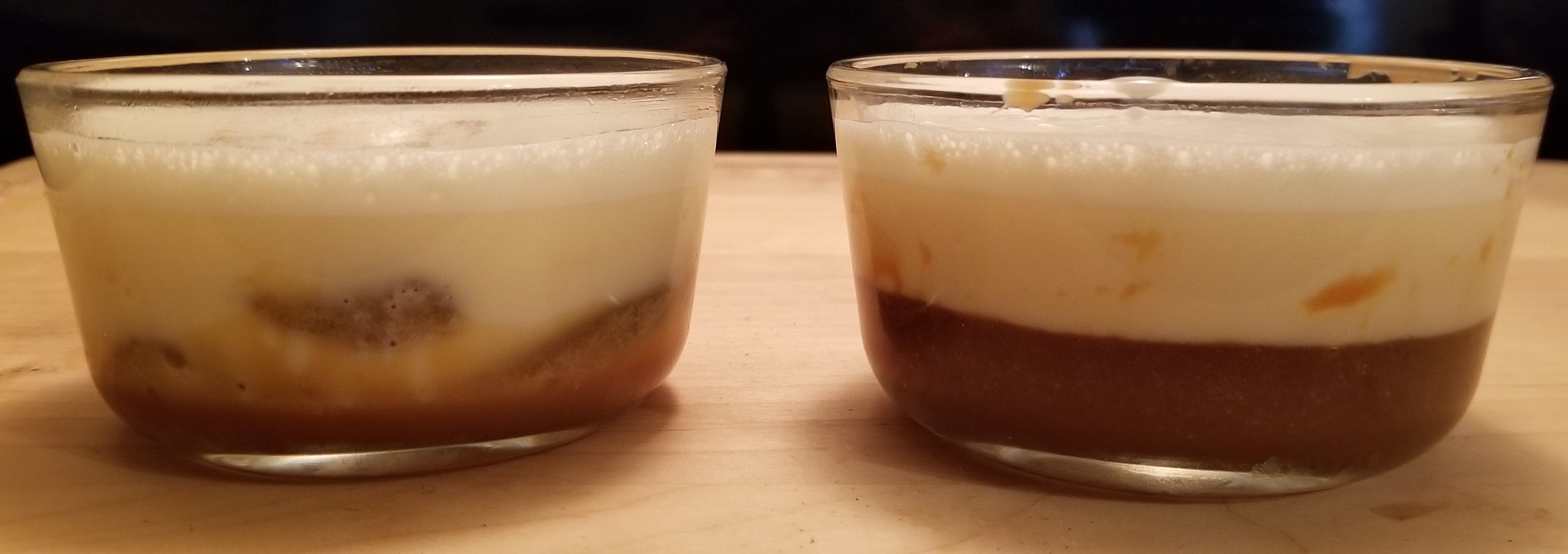 010 left custard first, right cake batter first