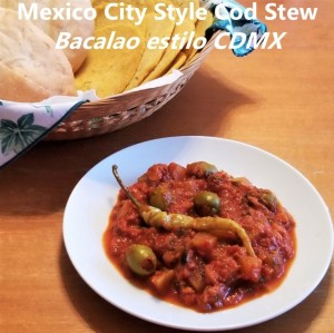 Bacalao CDMX Cod Stew My Slice of Mexico