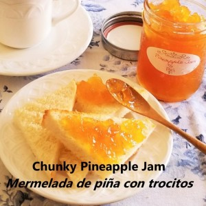 Chunky Pineapple Jam My SLice of Mexico