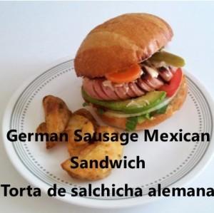 wurst torta My Slice of Mexico