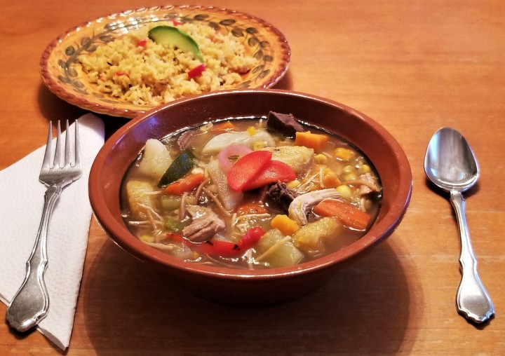 Campeche Style Stew with SaffronRice