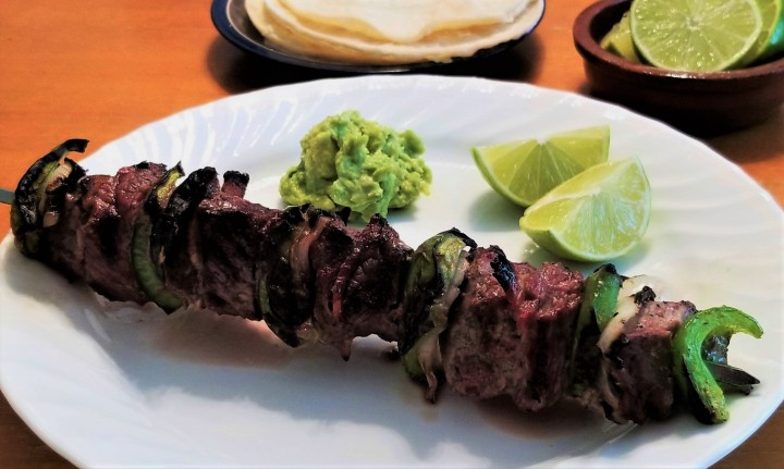 Alambre – A Classic Steak Skewer