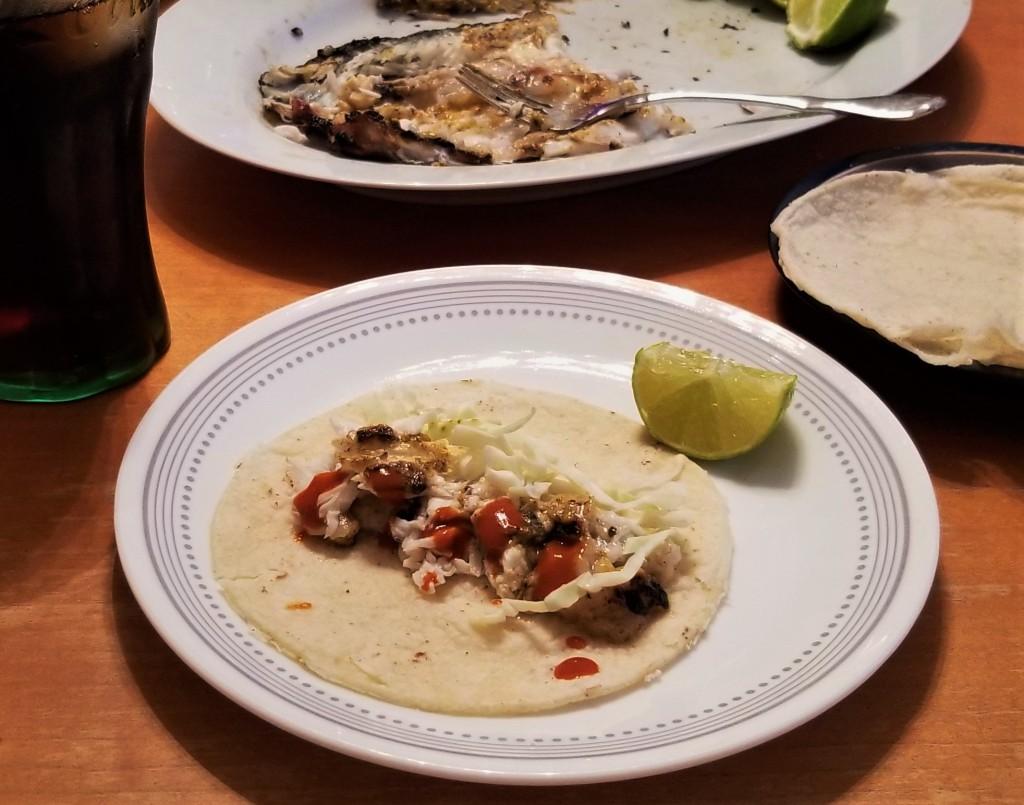 Zarandeado fish taco My Slice of Mexico