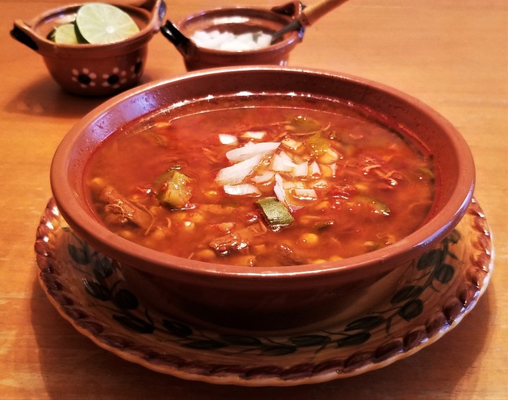 Elopozole – Puebla Style CornSoup