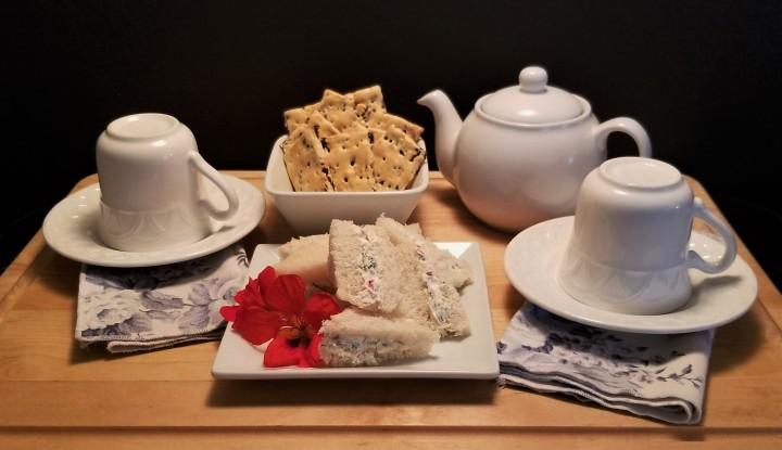 A Virtual Afternoon Tea – More FreshHerbs