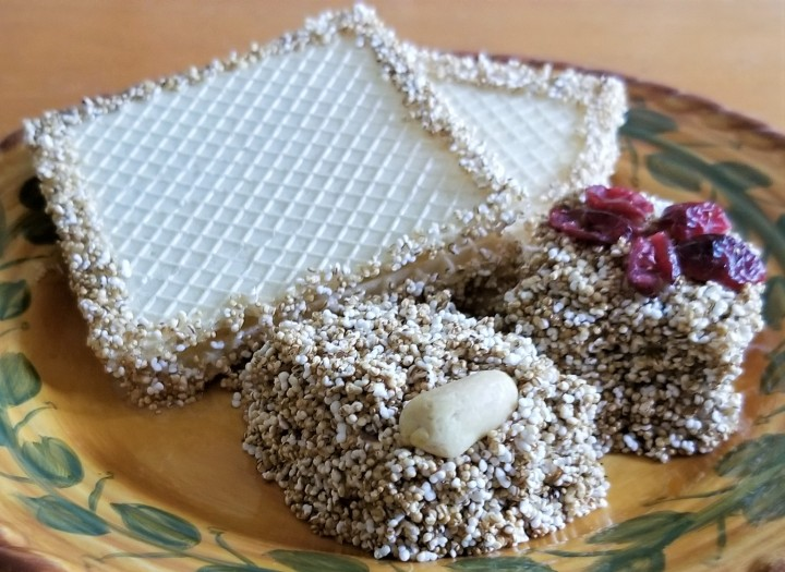 Traditional Sweets – Alegrías and Wafers with Amaranth