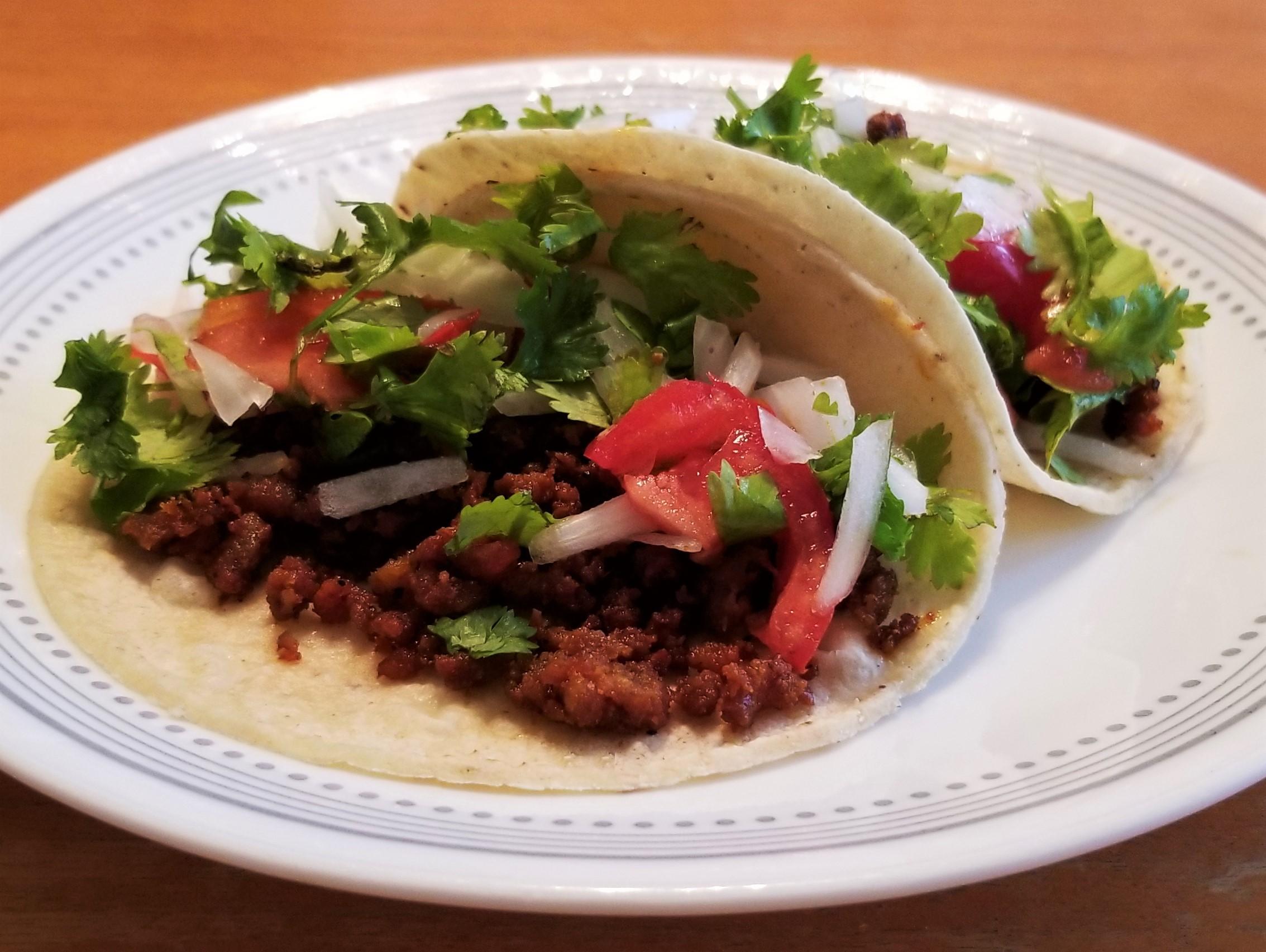 000 Chorizo tacos