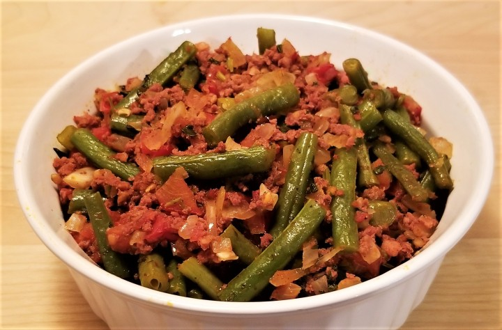 Guisados – Green Beans with Chorizo