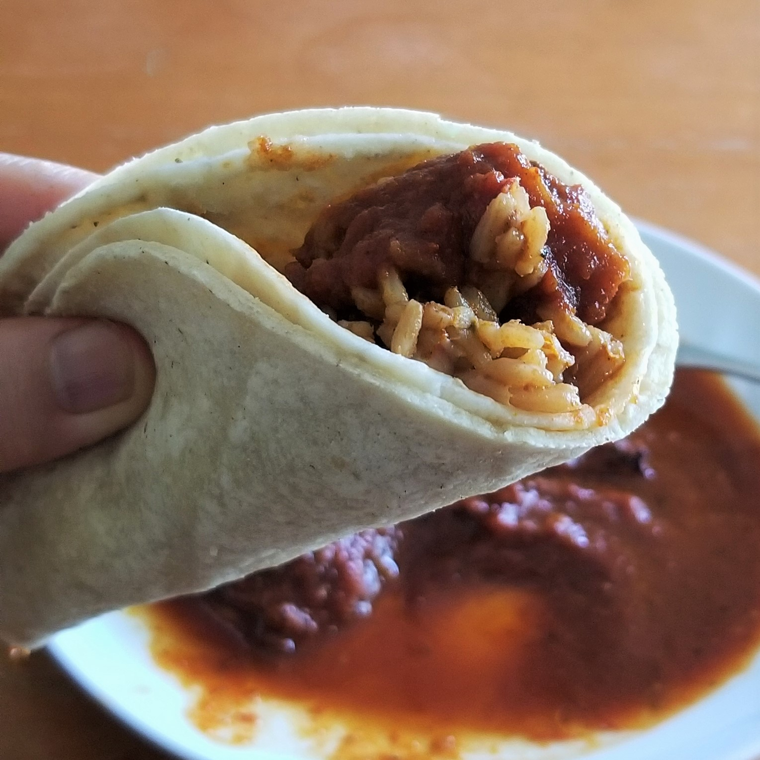 009-taco-acorazado-with-longaniza-in-red-sauce