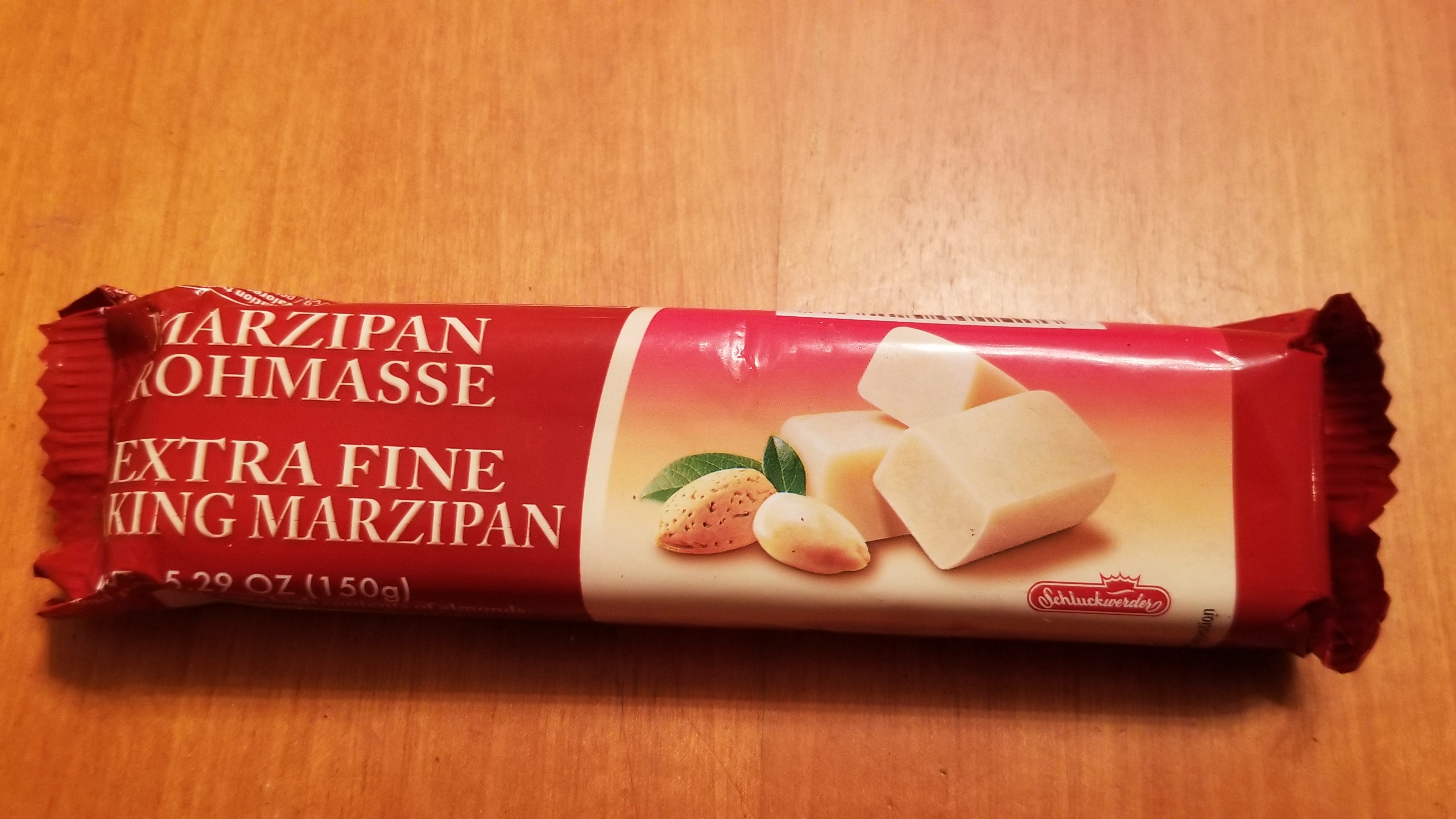 015 commercial marzipan paste