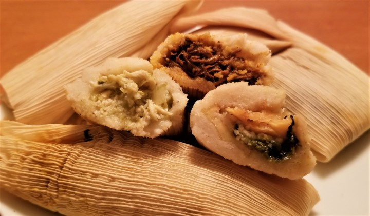 Assorted Savoury Tamales  – Tamales de Sabores