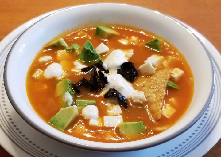 Tortilla Soup (Vegetarian)