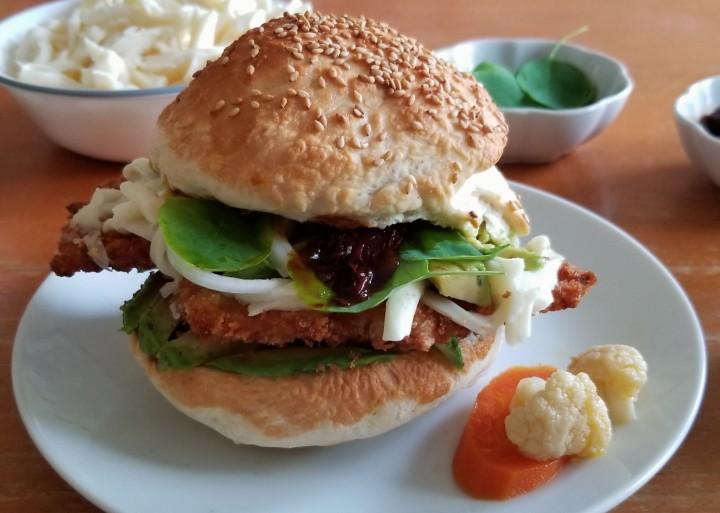 Puebla Style CemitaSandwich