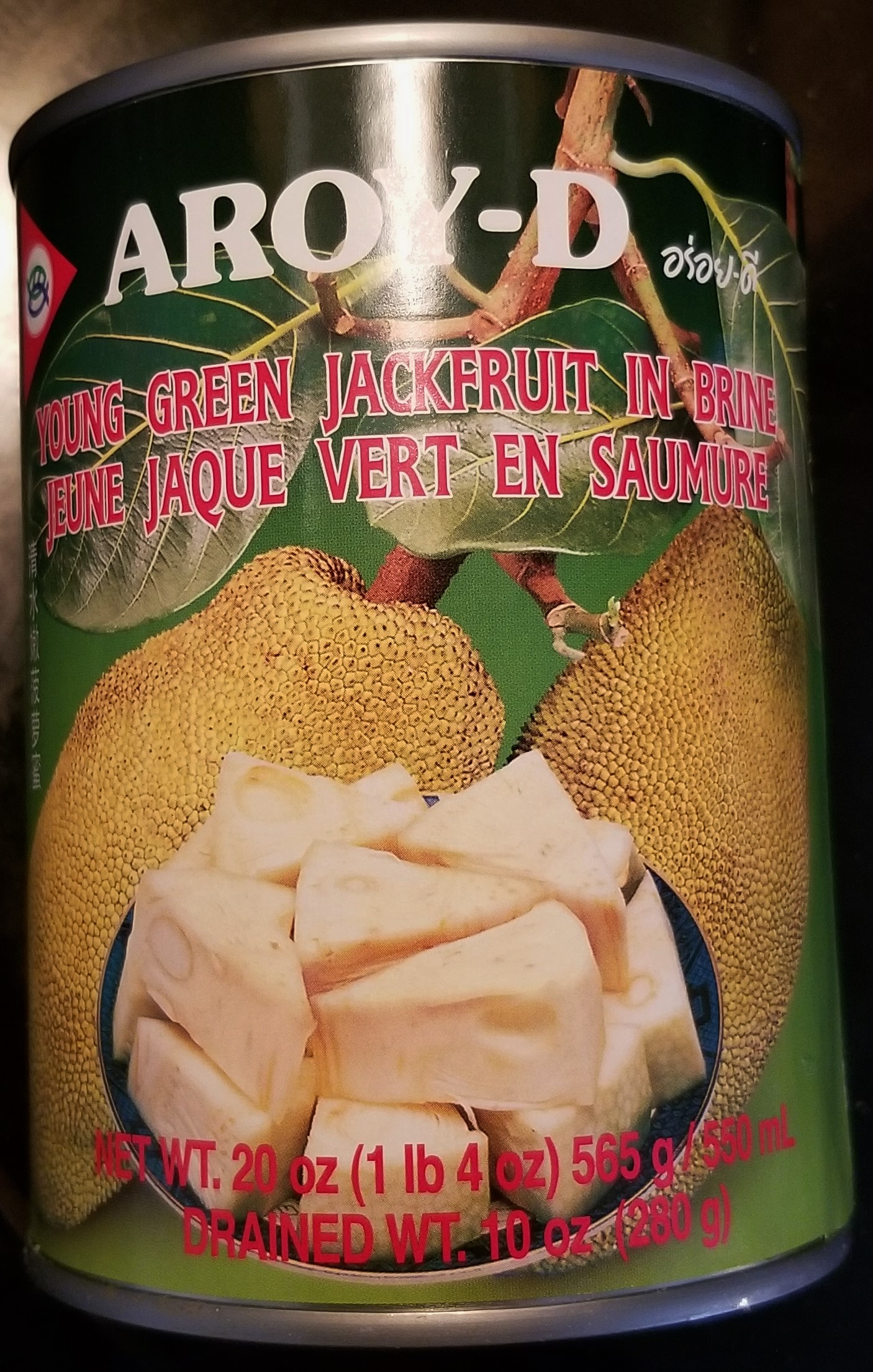 can of jackfruit